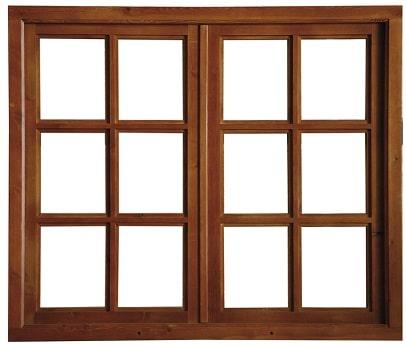 infissi: finestra a doppie ante.