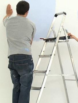 ristrutturare casa: la pittura delle pareti.