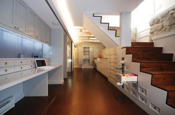 Il sistema di illuminazione di una casa.