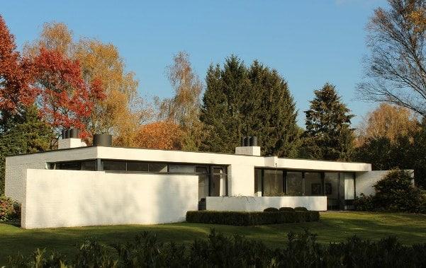 Una casa indipendente degli Anni 60.
