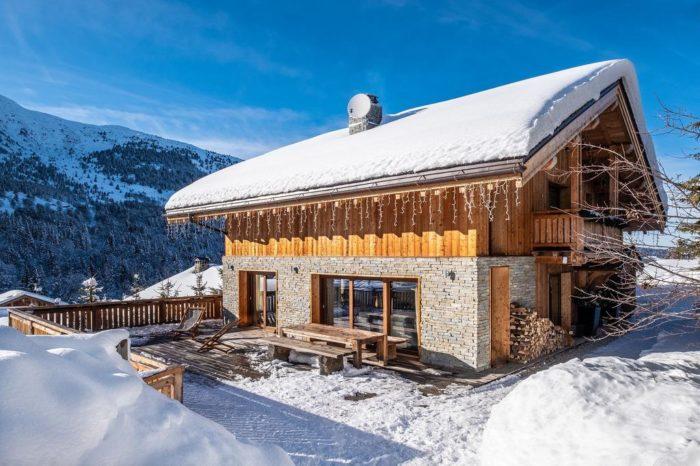 Il progetto per la ristrutturazione di una baita, la tipica casa di montagna.